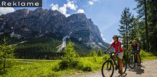 Cykelferie med cykelhjelm